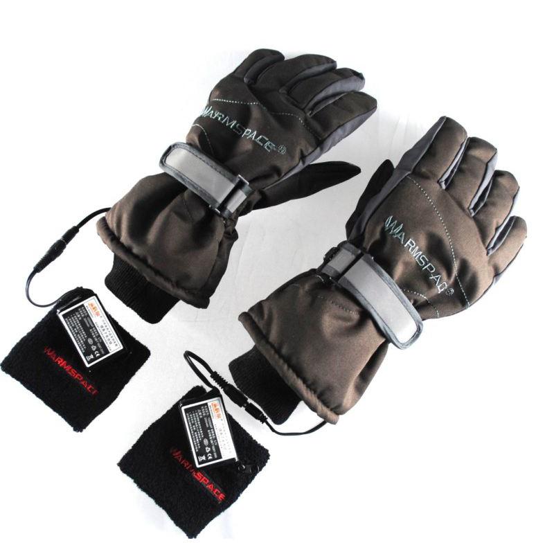 WARMSPACE温倍尔 护腕式电热手套WS-G0120C 充电加热滑雪保暖手套