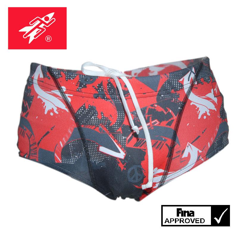 Rocket Science Sports 男士印花三角游泳裤 竞技泳裤 比赛泳衣