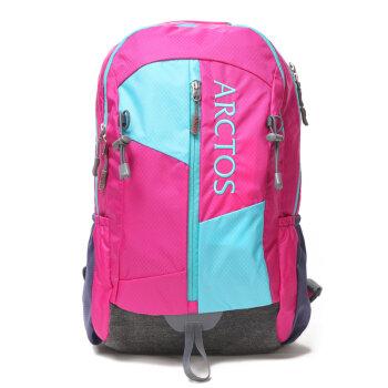 极星户外女款户外旅行背包23L双肩包徒步背包旅行包