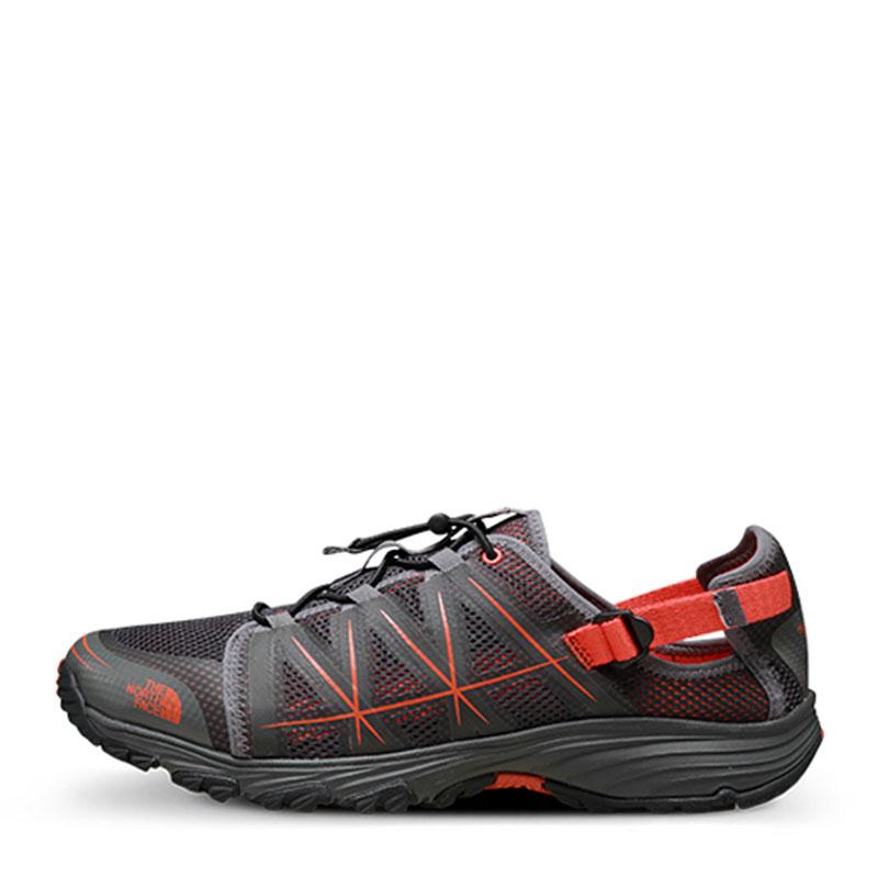 北面 运动跑步两栖网布鞋登山鞋徒步鞋新款男溯溪鞋网面跑步鞋  世峰户外